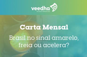 """""""Carta Mensal – """"Brasil no sinal amarelo freia ou acelera"""""""